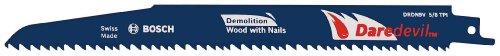 Bosch DRDN9V Daredevil 9-Inch Reciprocating Saw Blade, Demol