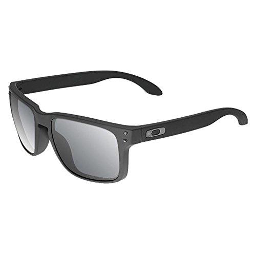 Oakley SI Holbrook Cerakote Graphite Black Frame, Grey Polarized Lens