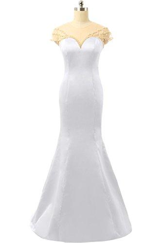 Bianco TOSKANA BRAUT TOSKANA BRAUT Vestito Vestito Donna Bianco Donna 8vTRw4