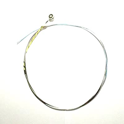 Generic Single Upright Double Bass Strings Steel Core Nickel Alloy Wound