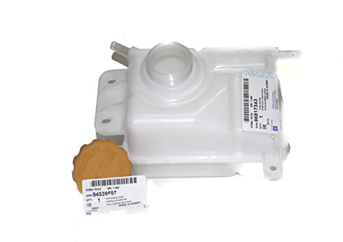 - Genuine Coolant Tank Surge Includes Tank Cap (94539597) for Chevy Chevrolet Aveo Part: 96817343
