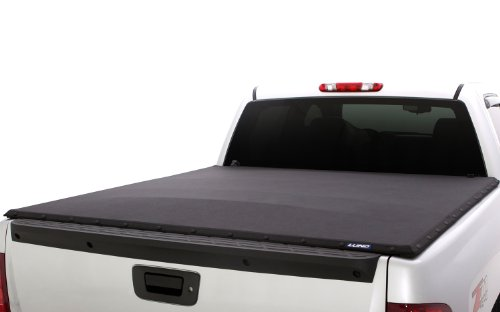 Lund 90988 Genesis Elite Snap Truck Bed Tonneau Cover for 2005-2011 Dodge Dakota (w/o Utility Track); 2006-2009 Mitsubishi Raider | Fits 5' Bed