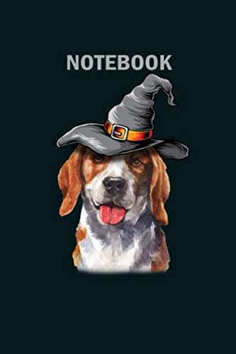 Happy Halloween Lover (NoteBook: happy halloween dog lover beagle dog breed - 50 sheets, 100 pages - 6 x 9)