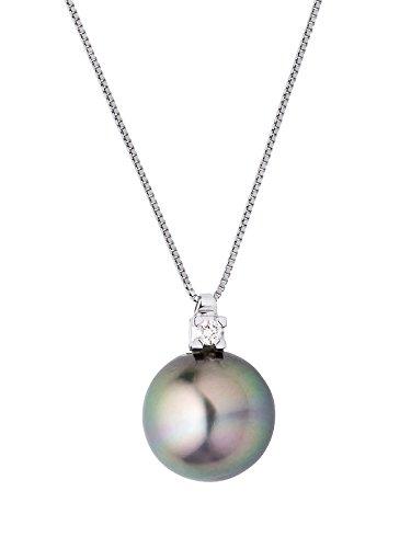 & You - Chaîne Maille Vénitienne - Argent 925 - Diamant 0.03 cts - 42 cm - DY-C22