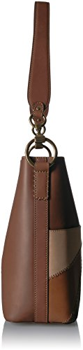 Ilana Multi FRYE Hobo Color Bag Leather Block Bucket Cognac 8dpdwxrqZ