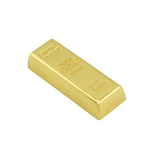 Usbkingdom 32GB USB 3.0 Flash Drive Super Speed Metal Bullion Gold Bar Shape Pendrive Memorias USB Memory Stick (Flash Drive Usb Gold)