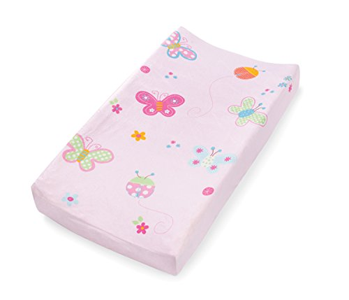 Summer-Infant-Ultra-Plush-Character-Changing-Pad-Cover-Butterflies-Ladybugs