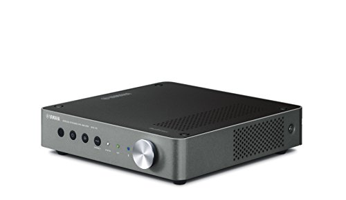 Dark Cast (Yamaha Music Cast Audio Component Preamplifier Dark Silver (WXC-50), Works with Alexa)