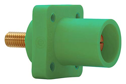 - CROUSE-HINDS E1016-1604S Power Entry Connector, Cam-Lok J E1016 Series, Receptacle, 600 V, 400 A, Panel Mount, Screw