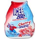 ICEE Zero Liquid Water Enhancer Cherry 1.62oz, Pack of 4