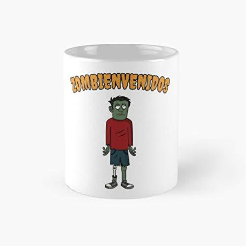 Graphic Tees For Women Zombienvenidos 11 Oz Coffee Mug - Devil Womens Dark T-shirt