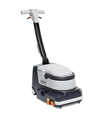 NEW Advance SC250 Battery micro scrubber w/ one 7.8 ah lithium battery, onboard charger, medium duty white cylindrical brush