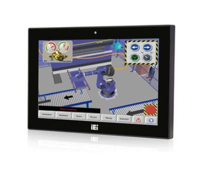 (DMC Taiwan) Wide 15.6 inches 400 cd/m² 1366x768 Panel PC with with Intel H81 Chipset, Pentium Dual Core G3320TE Processor (2.3 Ghz), TDP 35W, 2 x 2GB DDR3 RAM, 802.11a/b/g/n/ac WiFi Module ()