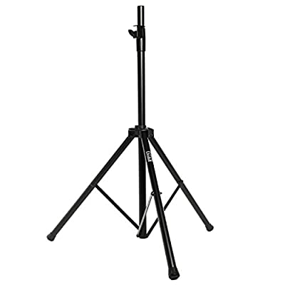 LyxPro SKS-50 Air-Lift Speaker Stand 6 feet Adjustable Height Tripod Airlift Technology Speaker Stand Auto Lift Raising Speaker Stand for Easy Hoisting from LyxPro