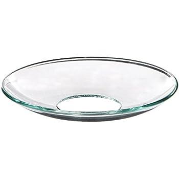 Amazon.com: Upgradelights Glass Bobeche Candle Ring Wax ...