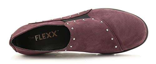 Bordeaux Chaussure For Studs Femme Run Flexx The z0wCqwA