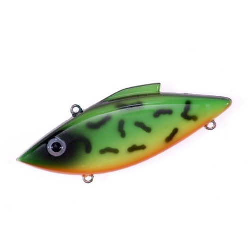 Rat-L-Trap Lures 1/4-Ounce Mini Trap (Firetiger Dark Eye)