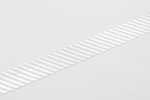 MT Washi Masking Tape Stripe Silver (MT01D146) Photo #3