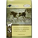 Native Performance Dog Food Level 3 30:20 Chicken Meal Rice Formula, 40-Pound