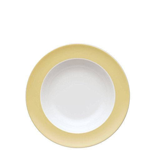 (Soup/Pasta Bowl, 9 inch | Sunny Day Pastel Yellow)