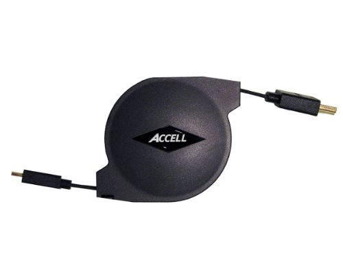 Accell A158B 005B Retractable HDMI C Ethernet