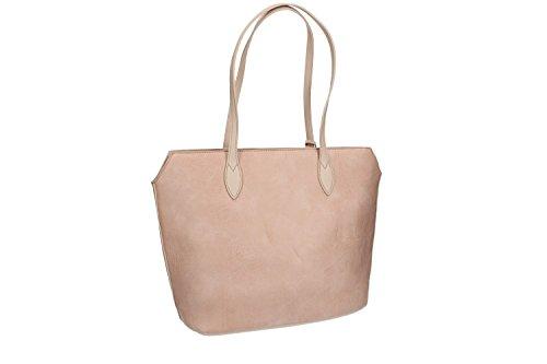 Tasche damen schulter PIERRE CARDIN pink ffnung zip VN1385