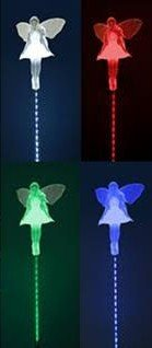Solar Fairy Motion LED Lights, Angel Garden Stake Outdoor Yard Decor Landscape LED Lamp Lights, Great Gift Review