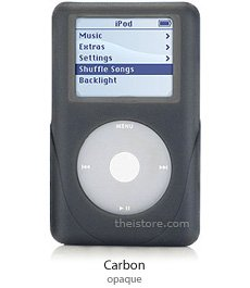 iSkin eVo2 for Click Wheel iPod carbon for 40GB iPod Photo 40/60