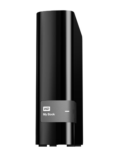 WD 4TB My Book Desktop External Hard Drive - USB 3.0 - WDBFJK0040HBK-NESN by Western Digital