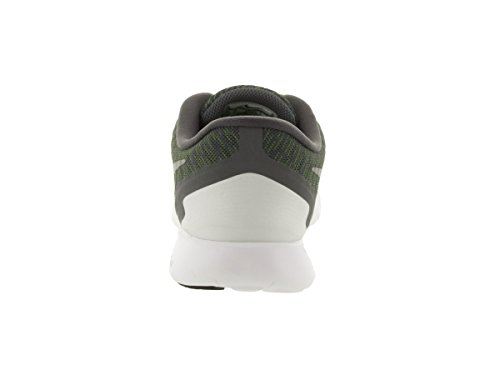 Nike Herren Free 5.0 Laufschuh Dunkelgrau Silber Volt Weiß