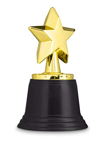 Neliblu Star Gold Award Trophies 4.5