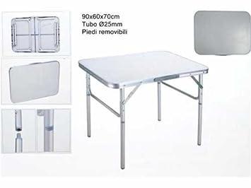 Import Tisch Camping Aus Aluminium Mit Tischplatte Aus Resopal