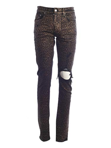 Amiri Men's Mbbknfolleo Multicolor Denim Jeans