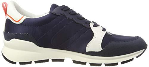 Esprit Low Chelo donna Lu da Sneakers blu 400 Blue scuro rwr4HXx
