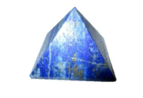 Jet Lovely Lapis Lazuli Pyramid Approx. 1.25