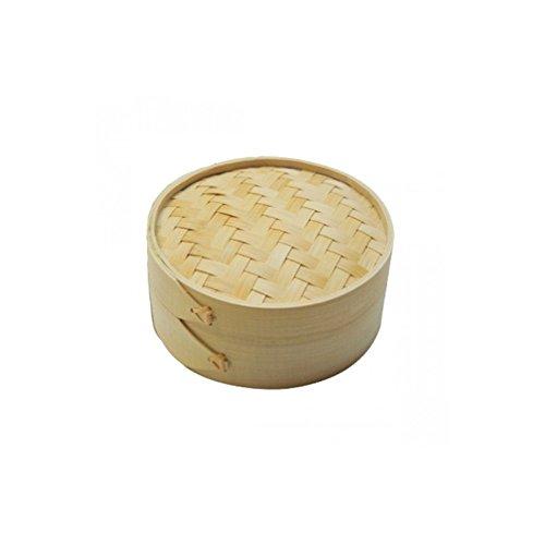 15 x 8 cm Garcia de Pou 144.36 Steamers Bamboo Brown