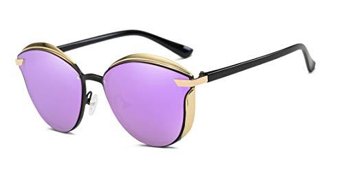 Amazon.com: VIVIAN & VINCENT Gafas de sol con efecto espejo ...