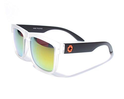 d05d38fd473 Jee Oversized Men Women Wayfarer Sunglasses 81016(Matte White)