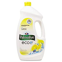 Palmolive ECO Automatic Dishwashing Gel, Lemon Splash, 75 Ounce