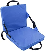Stadium Seat Cushion,Grandstand Comfort Seats with Back Support Portable Stadium Seat and Padded Cushion Light