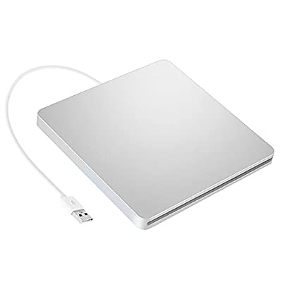 Turbot External CD Drive Burner USB Superdrive DVD Drive Player for Apple Mac iMac from Turbot
