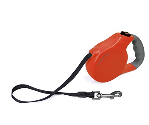 Bow & Arrow Retractable Leash, Large, Red