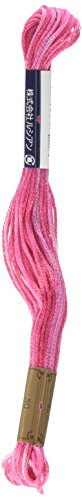 Lecien Japan SE80-8008 Cosmo Seasons Variegated Embroidery Floss, Pinks - $7.23