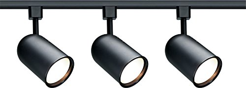 Nuvo Lighting TK323 3-Light Line Voltage R30 Bullet Cylinder Track Light Kit, ()
