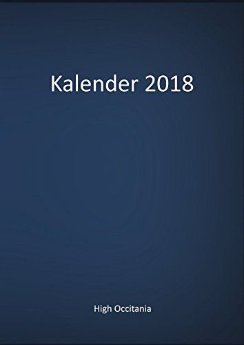 Kalender 2018 (German Edition)
