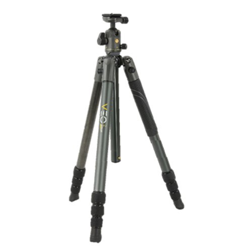 Vanguard VEO 2 264AB Aluminum Travel Tripod with VEO 2 BH-50 Ball Head for Sony, Nikon, Canon, Fujifilm Mirrorless, Compact System Camera (CSC), DSLR