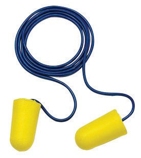 - 3M 312-1223 Single Use TaperFit 2 Tapered Polyurethane Foam Corded Earplugs With Vinyl Cord (1 Pair Per Poly Bag, 200 Pair Per Box) (200/PR)