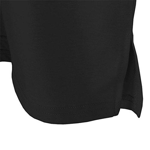 e911cfa2147 BLACKMYTH Mujer Redondo T-Shirt Impresion Camisetas Casual Tee Moda Señoras  Crop Tops Barato
