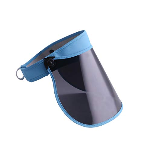 - Visor Hat Sport Cap UV Sun Protection PVC Foldable Oversize Large Brim for Women Men kids
