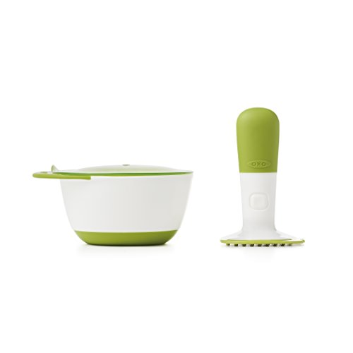OXO Tot Food Masher, Green